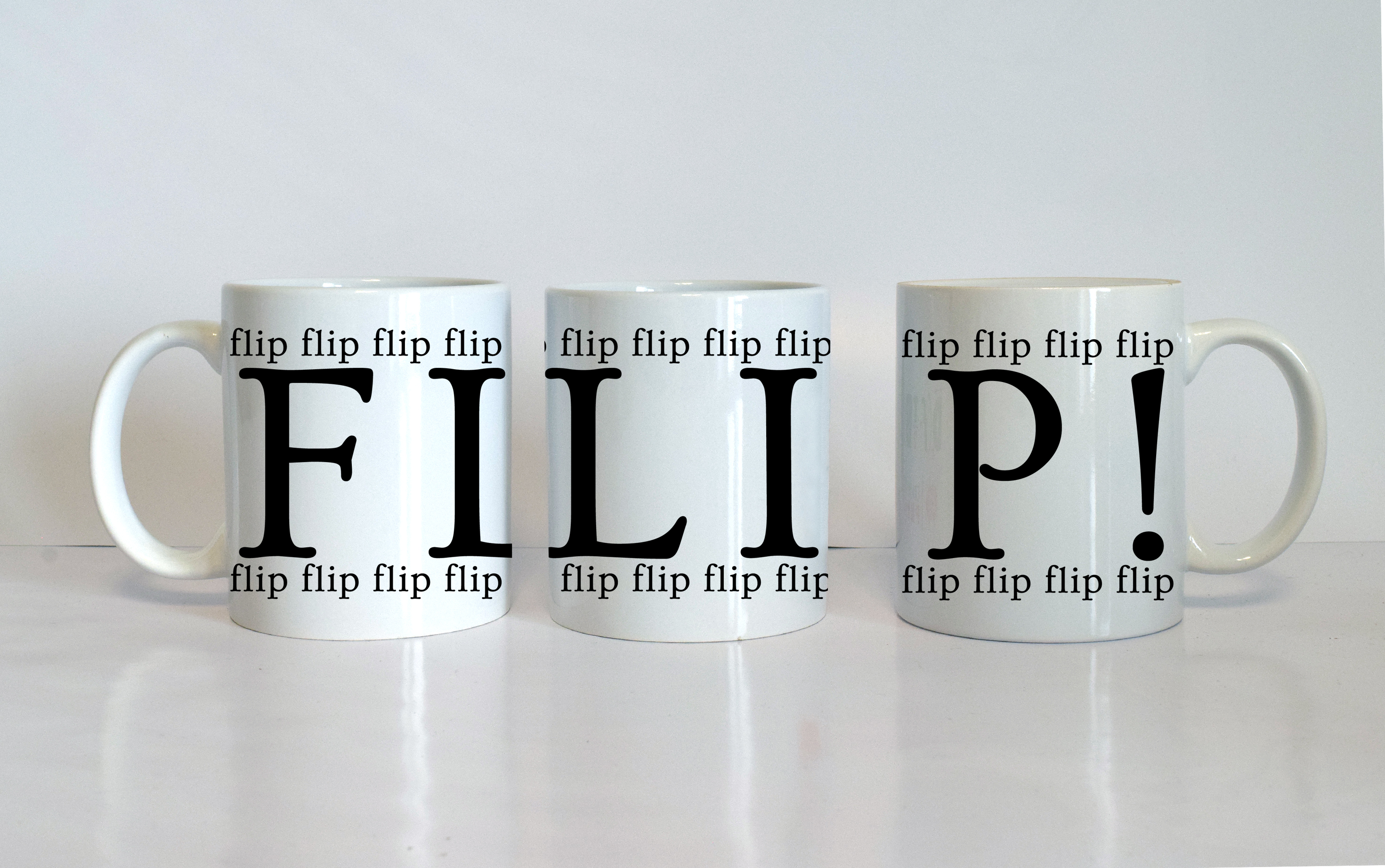FLIP! mug