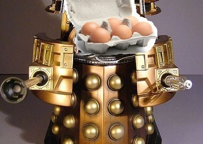Dalek Jon by unknown (please let us know if you made this)