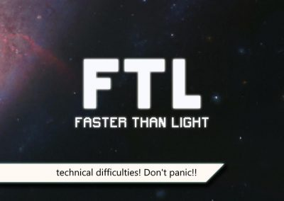 FTL technical difficulties screen by kiingkiller