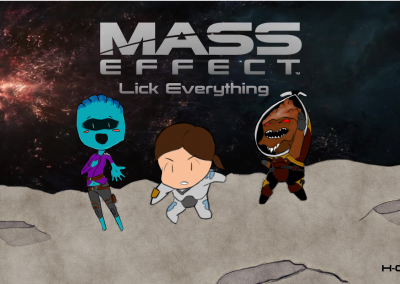 Mass Effect Lick Everything by Dool889