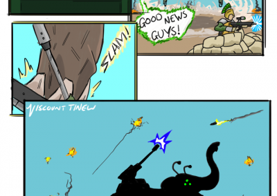 Titanic Beast Comic by viscountTinew